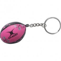 Porte clés ballon Beach Gilbert rose noir