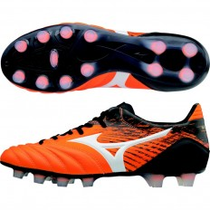 Chaussures Morelia Neo KL MD Mizuno orange noir