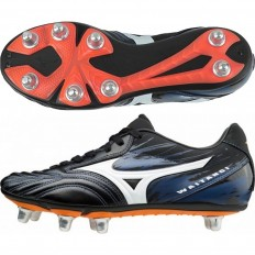 Chaussures Waitangi PS Mizuno blanc noir orange