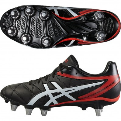 Chaussures Lethal Scrum Force Asics noir rouge