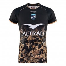 Maillot enfant Montpellier Hérault Rugby third 2017-18 Kappa noir