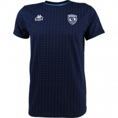 Tee shirt Spagna Montpellier Hérault Rugby 17-18 Kappa marine