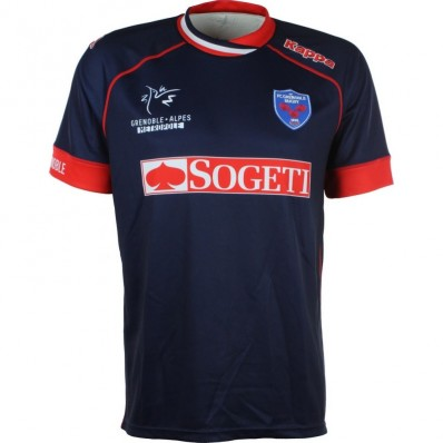 Maillot FC Grenoble Rugby domicile 2016-17 Kappa marine