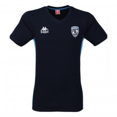Tee shirt enfant Fiori Montpellier Hérault Rugby 17-18 Kappa marine