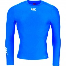 Tee shirt baselayer Cold Canterbury bleu butane