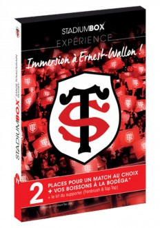Coffret Stade Toulousain Rugby Expérience StadiumBox