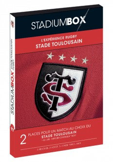 Coffret Stade Toulousain Rugby Classique StadiumBox