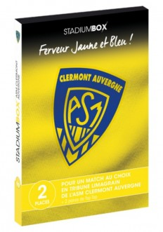 Coffret ASM Clermont Rugby Classic StadiumBox