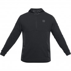 Sweat capuche 1/2 zip Terry Threadborne™ Under Armour noir