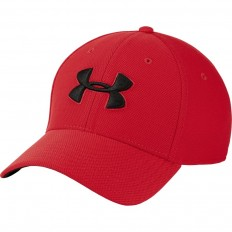 Casquette Blitzing 3.0 Under Armour rouge noir
