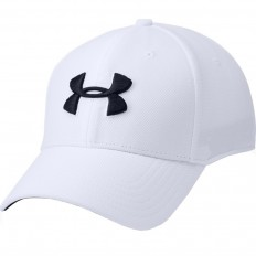Casquette Blitzing 3.0 Under Armour blanc noir