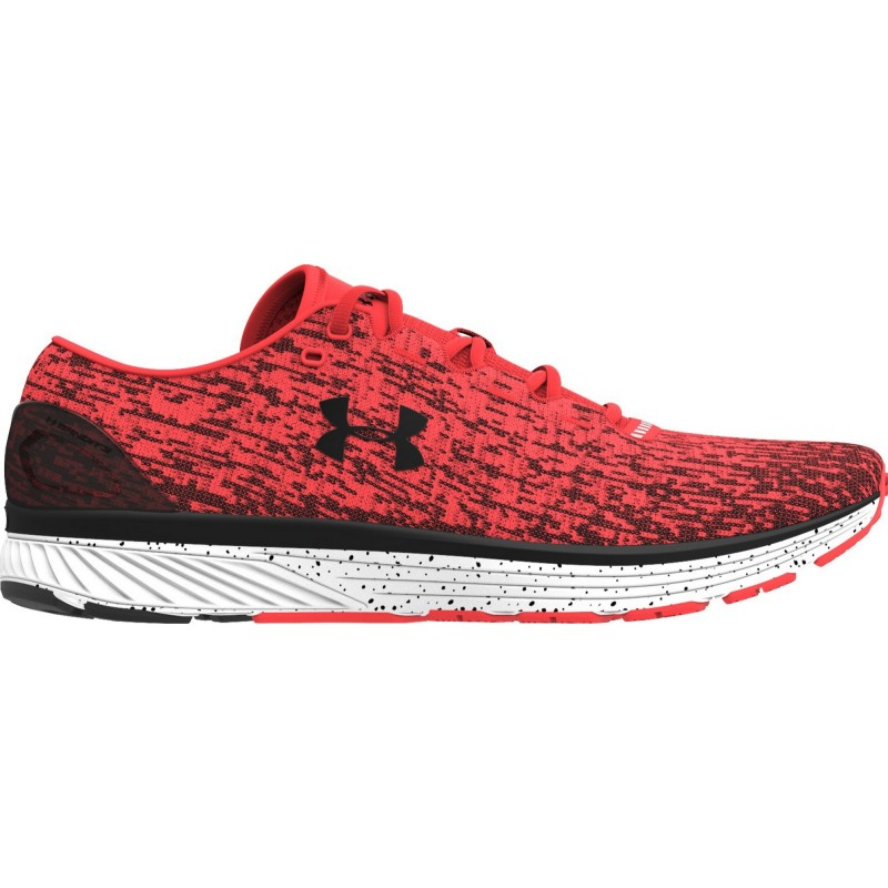 detailed look 86130 78d0a Chaussures Charged Bandit 3 Ombre Under Armour rouge corail noir
