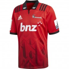 Maillot Crusaders Super Rugby 2018 Adidas rouge noir