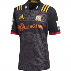 Maillot Chiefs Super Rugby domicile 2018 Adidas noir