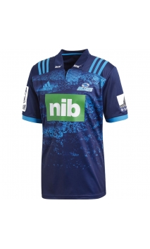 Maillot Blues Super Rugby domicile 2018 Adidas marine