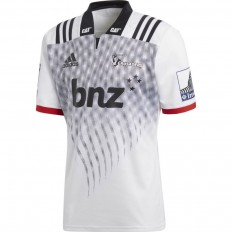 Maillot Crusaders Super Rugby 2018 Adidas blanc noir