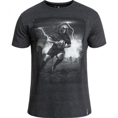 Tee shirt Deadly Rugby Division gris foncé