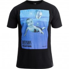 Tee shirt Rugbymind Rugby Division noir