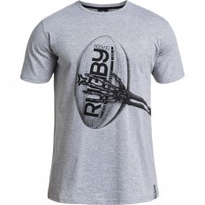 Tee shirt Arm Rugby Division gris chiné