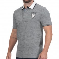Polo homme manche courte We Are Rugby Ruckfield gris clair