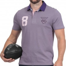 Polo homme manche courte We Are Rugby Ruckfield parme