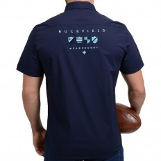 Chemise homme We Are Rugby manche courte Ruckfield marine