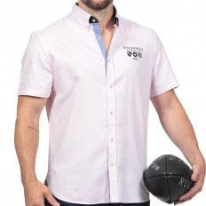 Chemise homme Chabal We Are Rugby Ruckfield rose