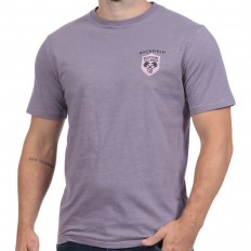 Tee shirt homme manche courte Rugby Island Ruckfield parme