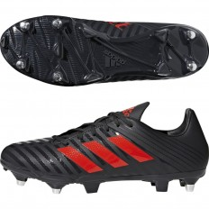 Chaussures Malice SG 18 Adidas noir rouge